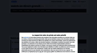 match-en-direct-gratuit.fr - sport en direct • tv, online, match live gratuit