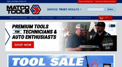 Welcome to Matcotools com - Hand Tools & Automotive Tools
