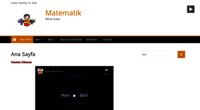 matematikchi.net - matematik - mihail guber