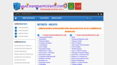 matematikcifatih.com - browser - lütfen modern bir tarayıcı kullanın