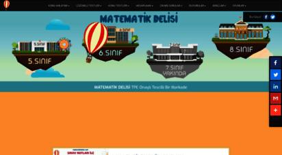 matematikdelisi.com - matematik delisi: herkes için matematik