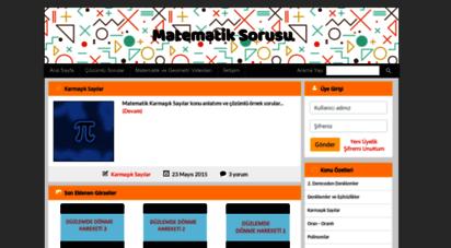 matematiksorusu.net - matematik sorusu