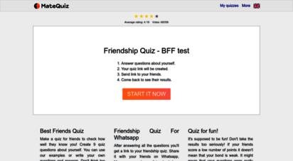 matequiz.com - matequiz - quiz your mate!
