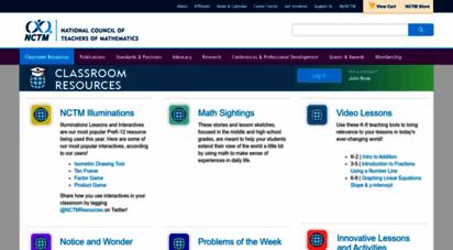 mathforum.org - the math forum - national council of teachers of mathematics