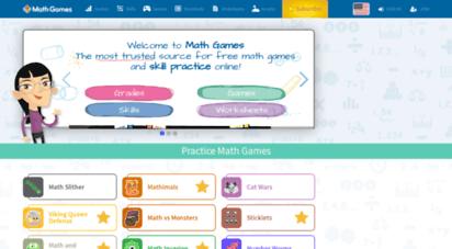 mathgames.com -