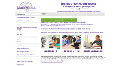 Adult educational software