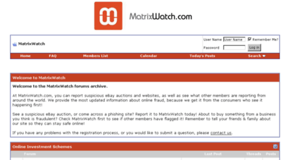 matrixwatch.com