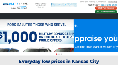 Ford Dealership Kansas City >> Welcome To Mattford Com Ford Dealership Kansas City Mo