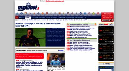 maxifoot.fr - football : l´actualité foot et transfert est sur maxifoot