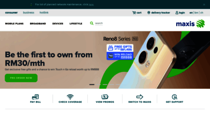 maxis.com.my - maxis - smartphones with the best 4g network, fibre broadband, and more  maxis