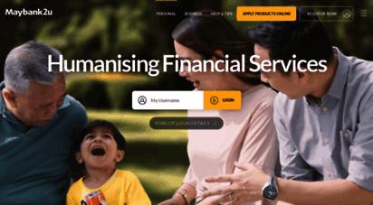 similar web sites like maybank2u.com.my
