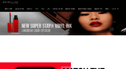 maybelline.ca - maybelline canada official site - make up & cosmetics for women