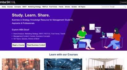 mbaskool.com - mba skool - business & strategy knowledge resource for management students, aspirants & professionals