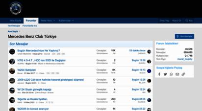 mbclubtr.com - mercedes benz club türkiye