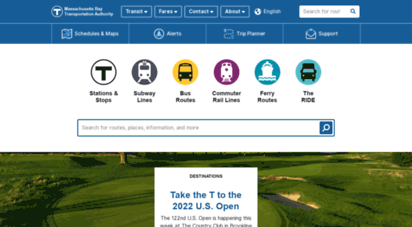 mbta.com - mbta - massachusetts bay transportation authority