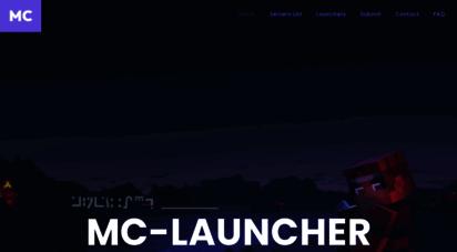 mc-launcher.com - home  mc-launcher.com