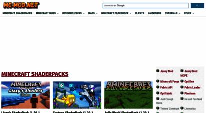 mc-mod.net - mc-mod  minecraft 1.16.2, 1.15.2 mods