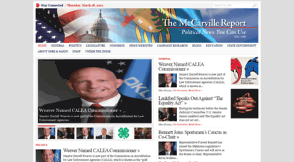 mccarvillereport.com - the mccarville report  politics and government