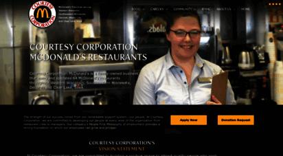 mccourtesy.com - courtesy corporation mcdonald´s