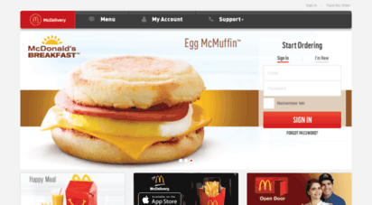 mcdelivery.com.pk -