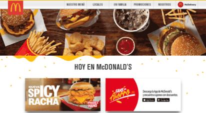 mcdonalds.com.co - mcdonald´s - colombia