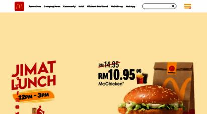 mcdonalds.com.my -