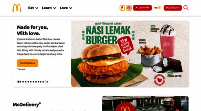 mcdonalds.com.sg - home - mcdonald´s®