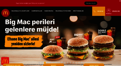 similar web sites like mcdonalds.com.tr