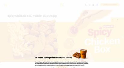 mcdonalds.pl - mcdonald´s: burgery, frytki, sałatki, desery, mccafé i inne!