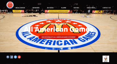 mcdonaldsallamerican.com - home :: mcdonald´s all americanr games - a basketball rite of passage tm