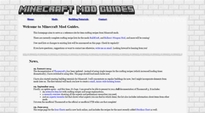 mcmodguides.com - minecraft mod item glossary