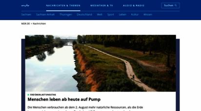 mdr.de - mdr.de - radio, fernsehen, nachrichten für mitteldeutschland  mdr.de
