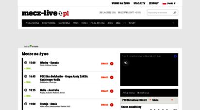 mecz-live.pl - mecze na żywo • transmisje online, tv  mecz-live.pl