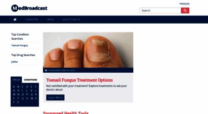 medbroadcast.com - canadian health, disease, & medication information - medbroadcast.com