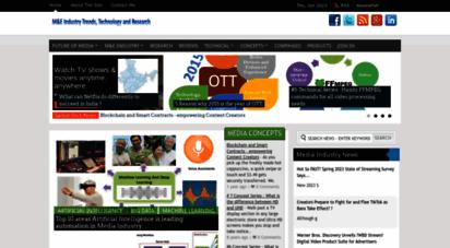 Welcome to Mediaentertainmentinfo com - Media