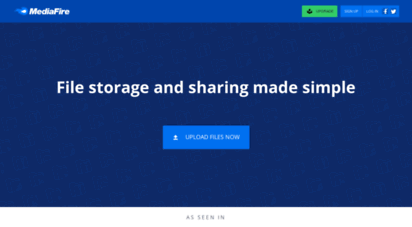 mediafire.com - file sharing and storage made simple