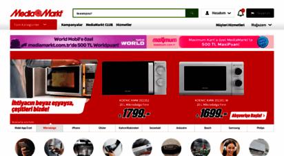 mediamarkt.com.tr - mediamarkt - avrupa´nın 1 numaralı elektronik perakendecisi