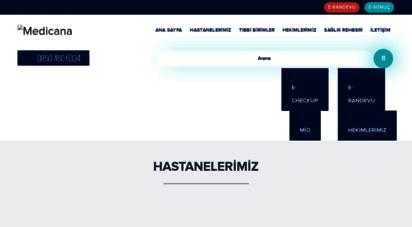 medicana.com.tr - medicana sağlık grubu