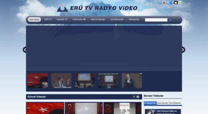 medya.erciyes.edu.tr - ercýyes web tv