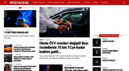 medyajans.com - medyajans.com -haber siteleri, son dakika, birinci sayfalar, köşe yazıları, son dakika, haberler, spor, magazin, medya, gazeteler,