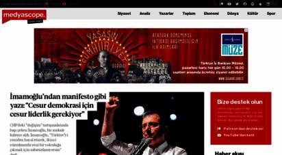 medyascope.tv - medyascope - sivil, bağımsız, özgür ve çoğulcu haber ve yorum platformu
