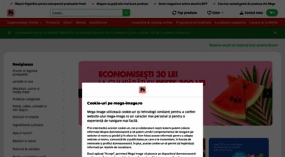 mega-image.ro - supermarket online - livrare cmparaturi la domiciliu  mega image