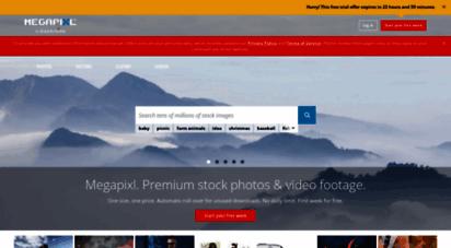 megapixl.com - premium stock photos, vectors and video footage by megapixl