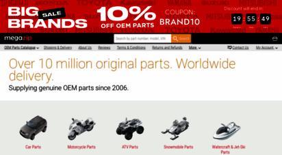 megazip.net - megazip - genuine oem parts from japan, usa, uae  online store