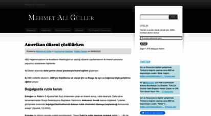 mehmetaliguller.com - mehmet ali güller