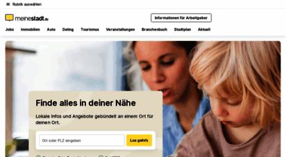 meinestadt.de - meinestadt.de - das portal für alle städte deutschlands