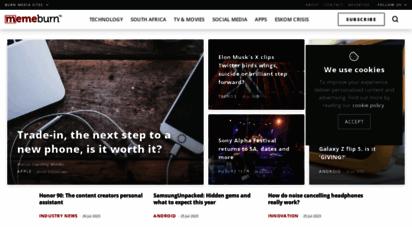 memeburn.com - memeburn - internetculture