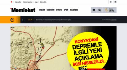 memleket.com.tr - konya memleket gazetesi