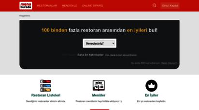 menuburada.com - menü burada