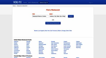 menupix.com - restaurant menus & reviews - menupix
